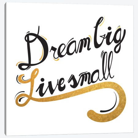 Dream Big III Canvas Print #BWQ14} by 5by5collective Canvas Wall Art