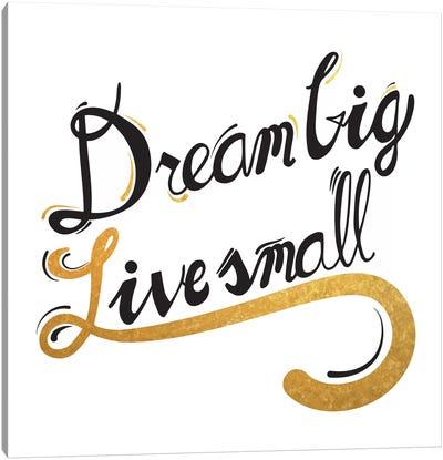 Dream Big III Canvas Art Print