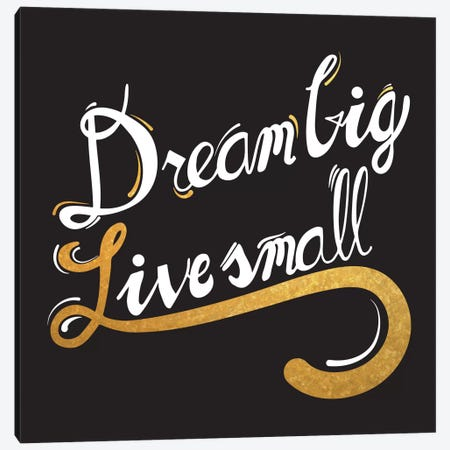 Dream Big IV Canvas Print #BWQ15} by 5by5collective Canvas Wall Art