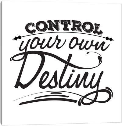 Control Your Destiny I Canvas Art Print