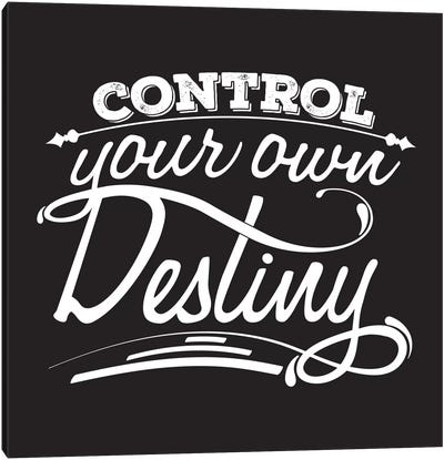 Control Your Destiny II Canvas Print #BWQ21