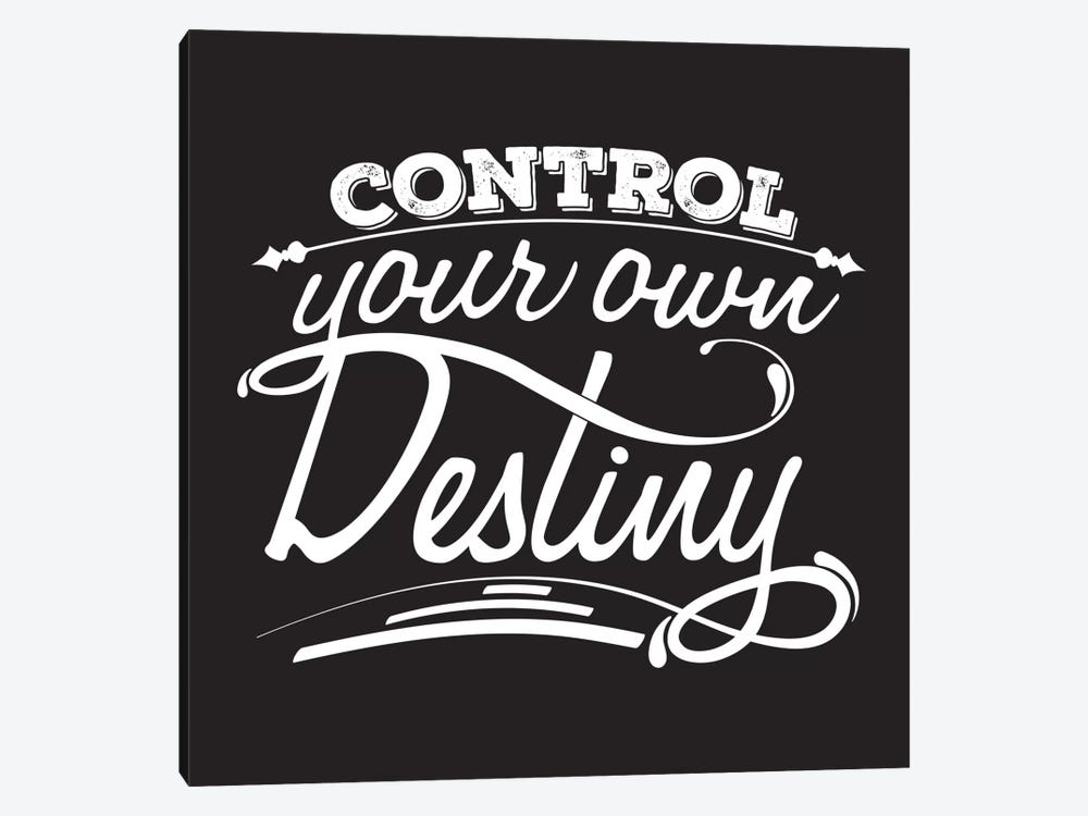 Control Your Destiny II by 5by5collective 1-piece Art Print