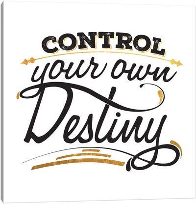 Control Your Destiny III Canvas Art Print