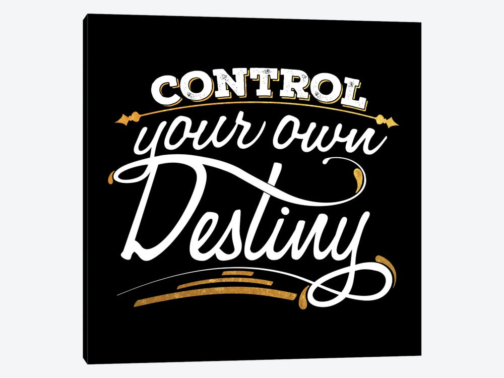 Control Your Destiny IV by 5by5collective 1-piece Art Print