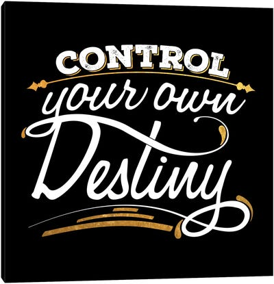 Control Your Destiny IV Canvas Art Print