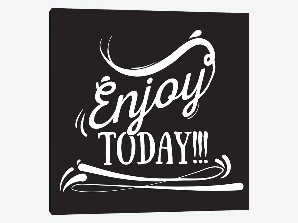 Enjoy Today II by 5by5collective 1-piece Art Print