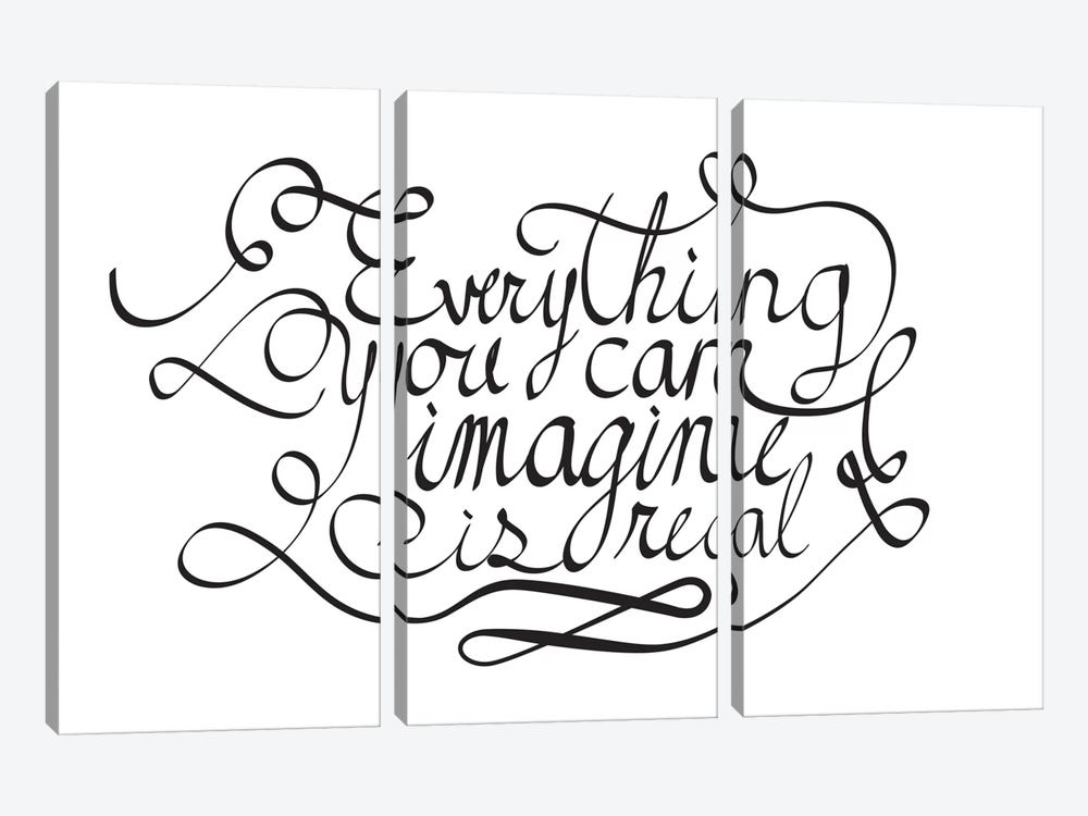 Everything You Can Imagine I by 5by5collective 3-piece Canvas Art