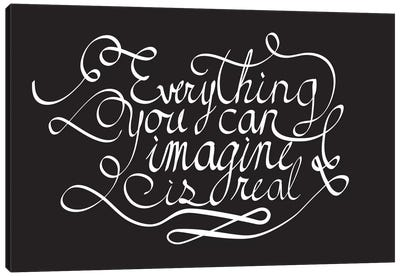 Everything You Can Imagine II Canvas Print #BWQ29