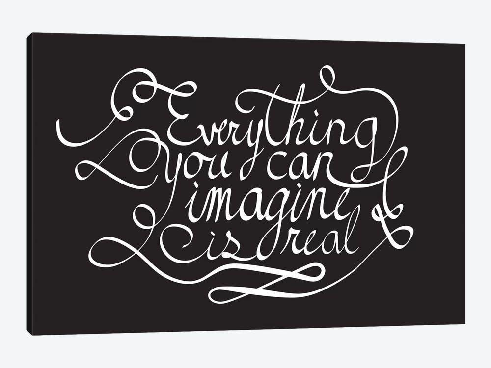 Everything You Can Imagine II by 5by5collective 1-piece Art Print