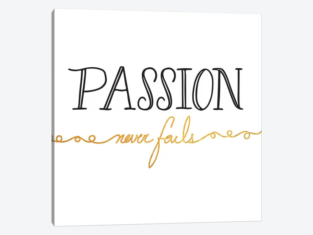 Passion Never Fails II by 5by5collective 1-piece Canvas Art