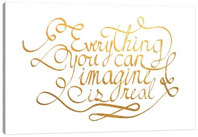 Everything You Can Imagine III Canvas Art Print