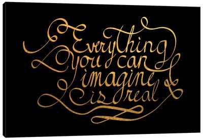 Everything You Can Imagine IV Canvas Print #BWQ31