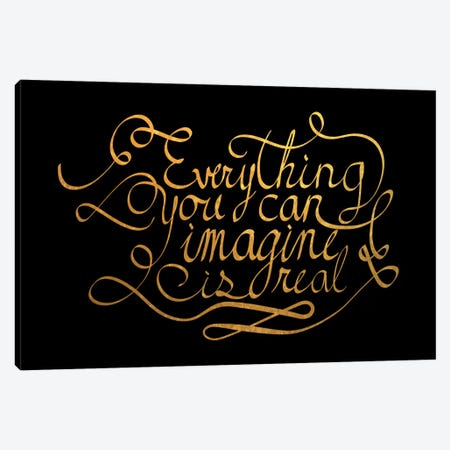 Everything You Can Imagine IV Canvas Print #BWQ31} by 5by5collective Canvas Art Print