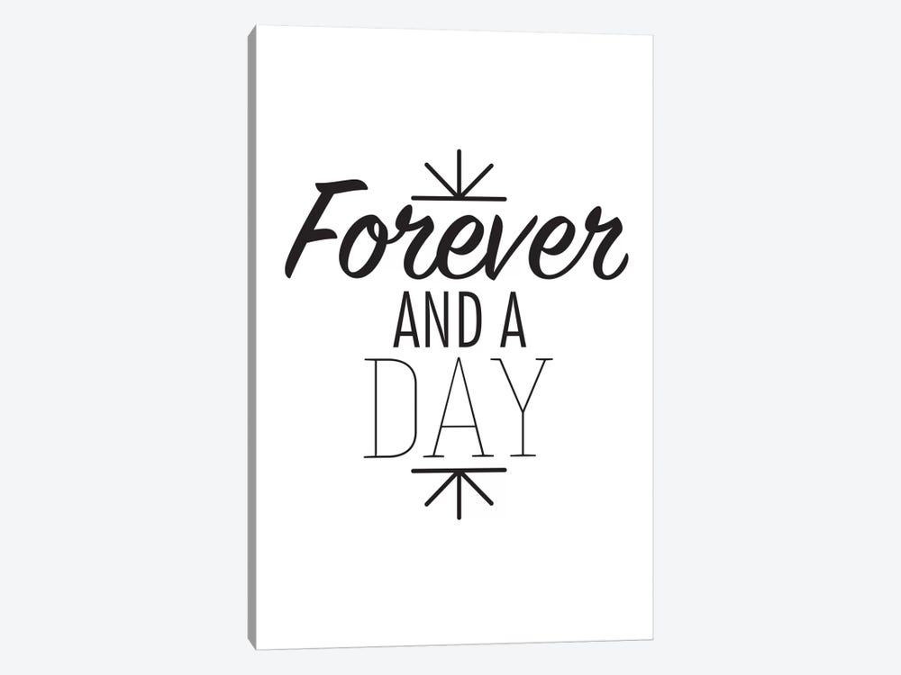 Forever And A Day I by 5by5collective 1-piece Canvas Art Print