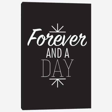 Forever And A Day II Canvas Print #BWQ33} by 5by5collective Canvas Art Print