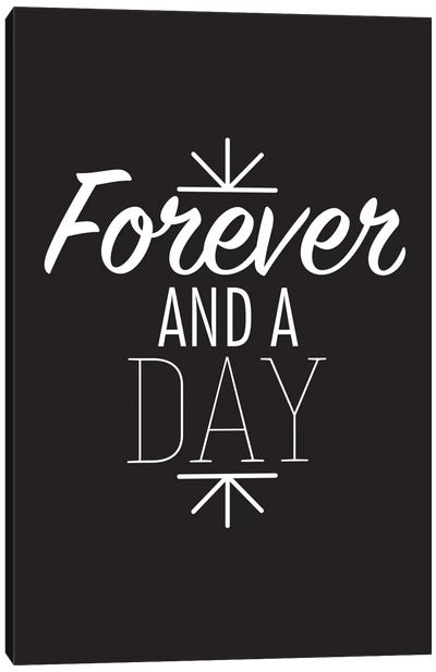 Forever And A Day II Canvas Art Print