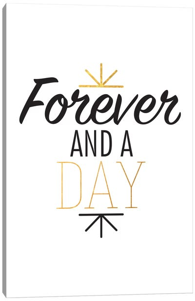 Forever And A Day III Canvas Art Print
