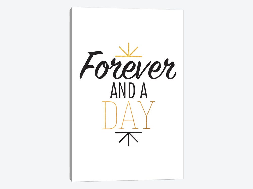 Forever And A Day III by 5by5collective 1-piece Canvas Art Print