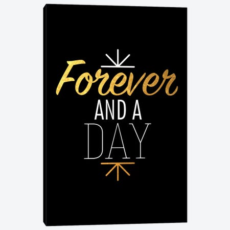 Forever And A Day IV Canvas Print #BWQ35} by 5by5collective Canvas Art