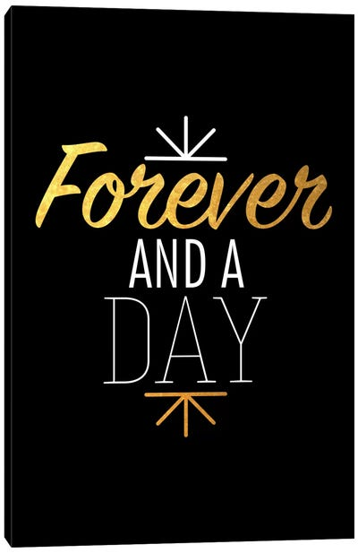 Forever And A Day IV Canvas Art Print