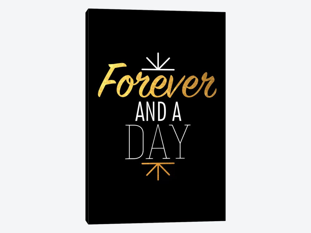 Forever And A Day IV by 5by5collective 1-piece Canvas Wall Art