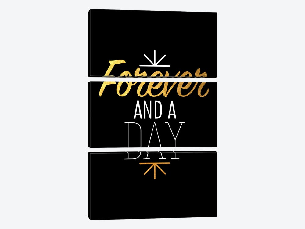 Forever And A Day IV by 5by5collective 3-piece Canvas Artwork