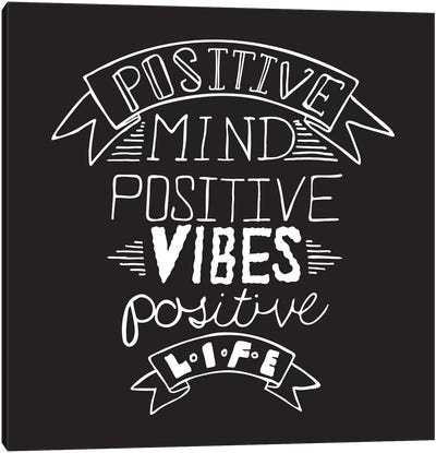 Positive Life II Canvas Art Print