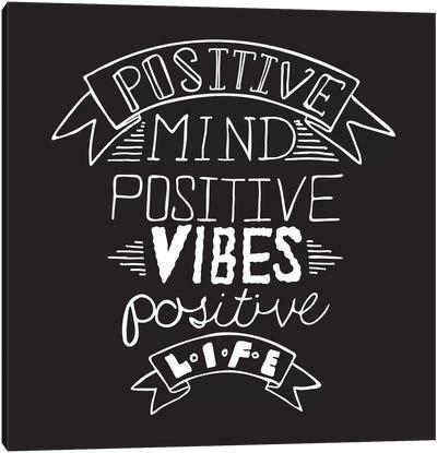 Positive Life II Canvas Art Print