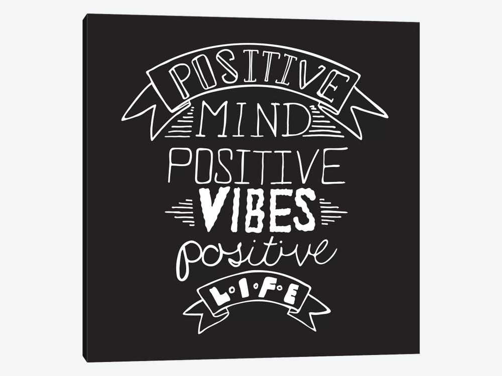 Positive Life II by 5by5collective 1-piece Canvas Artwork