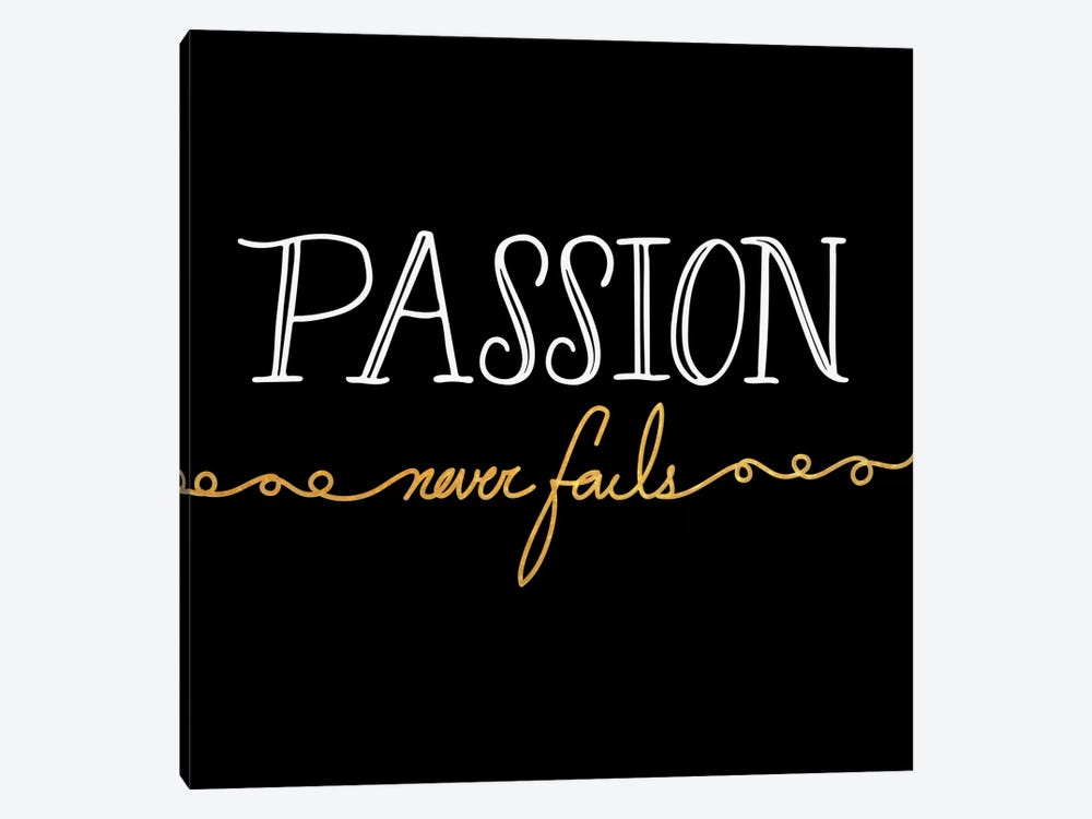 Passion Never Fails III by 5by5collective 1-piece Canvas Art Print