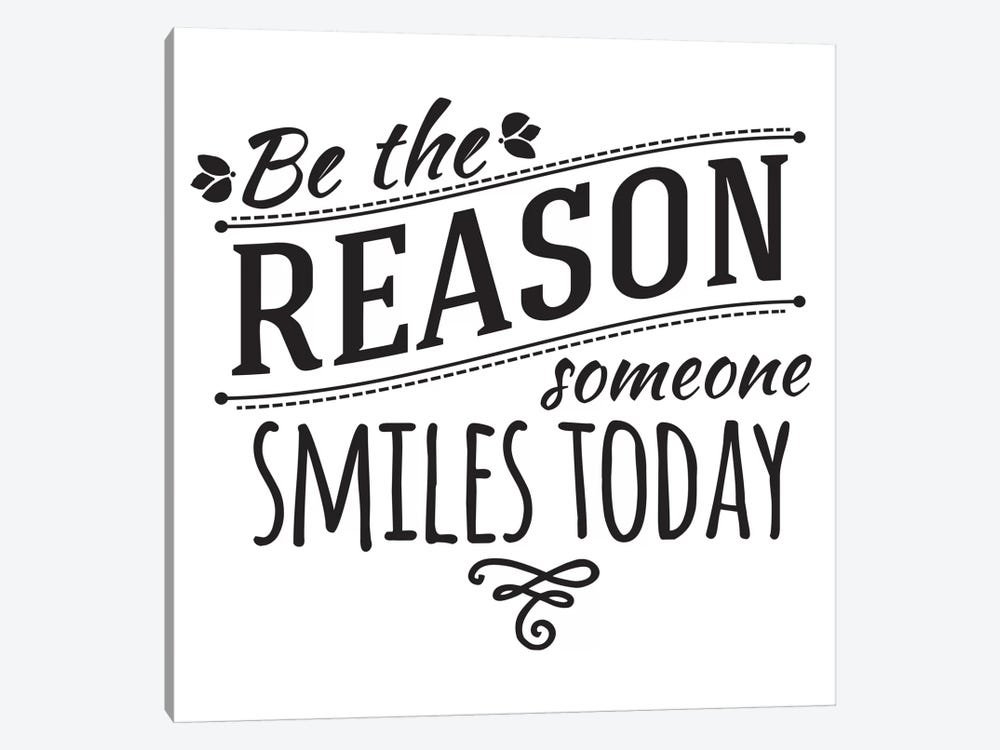 Be The Reason I by 5by5collective 1-piece Canvas Wall Art