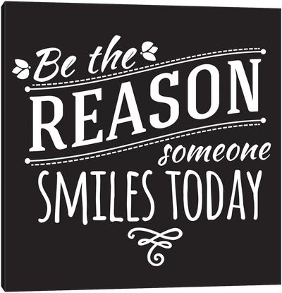 Be The Reason II Canvas Print #BWQ41