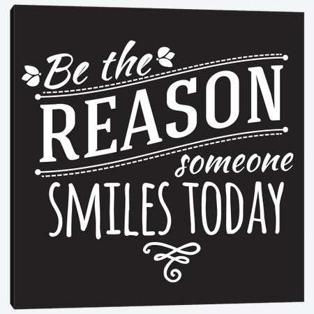 Be The Reason II Canvas Print #BWQ41} by 5by5collective Canvas Artwork