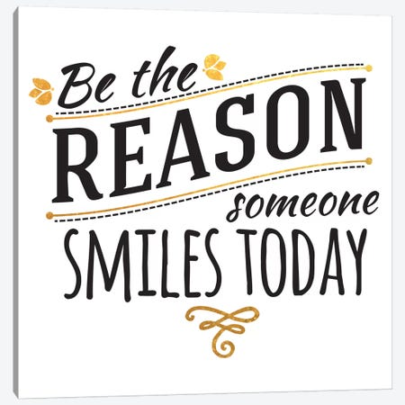 Be The Reason III Canvas Print #BWQ42} by 5by5collective Canvas Art