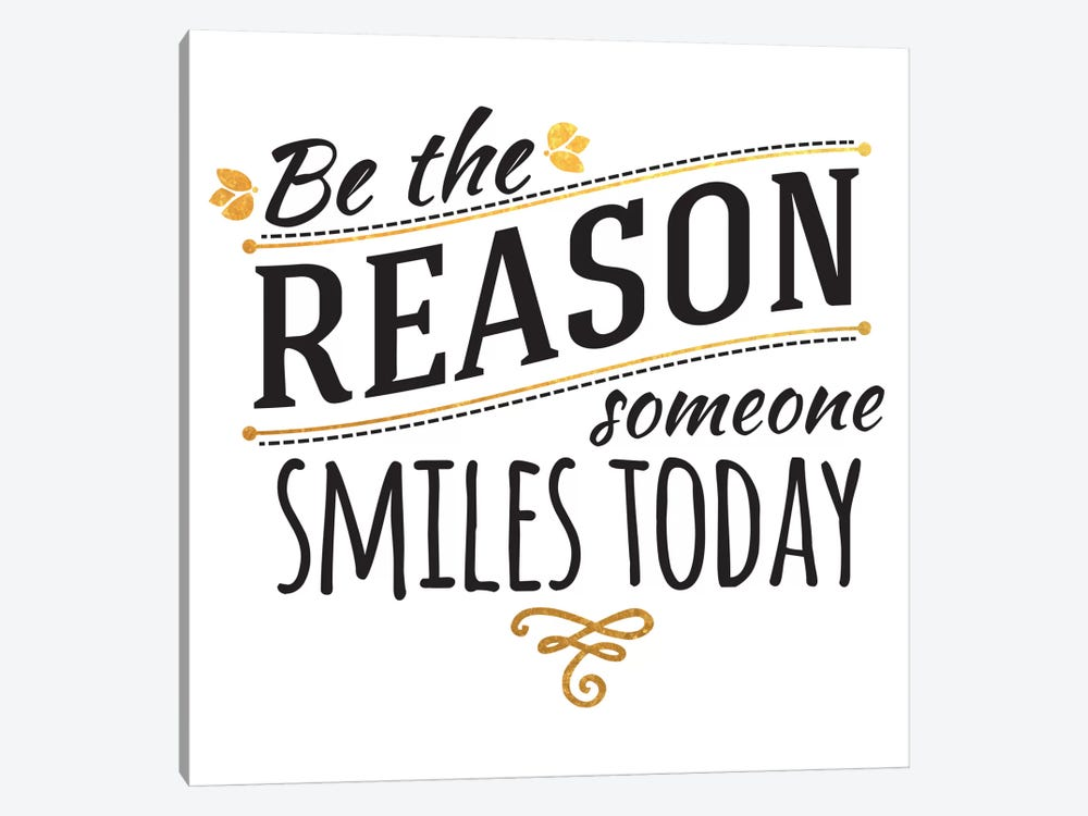Be The Reason III by 5by5collective 1-piece Canvas Wall Art