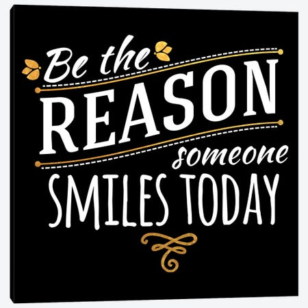 Be The Reason IV Canvas Print #BWQ43} by 5by5collective Canvas Artwork