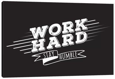 Work Hard II Canvas Print #BWQ45