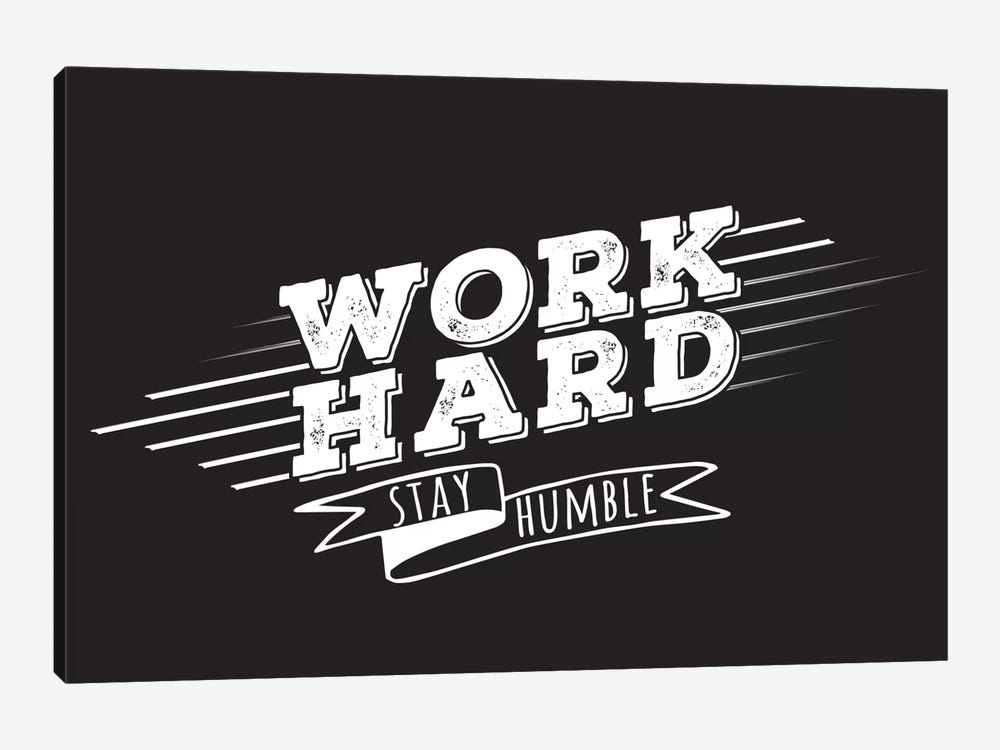 Work Hard II by 5by5collective 1-piece Art Print