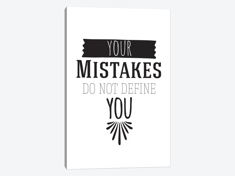 Your Mistakes I by 5by5collective 1-piece Canvas Wall Art