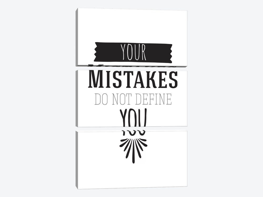 Your Mistakes I by 5by5collective 3-piece Canvas Art