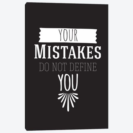 Your Mistakes II Canvas Print #BWQ49} by 5by5collective Canvas Artwork