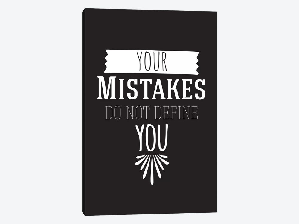 Your Mistakes II by 5by5collective 1-piece Art Print