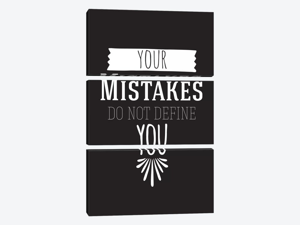 Your Mistakes II by 5by5collective 3-piece Art Print