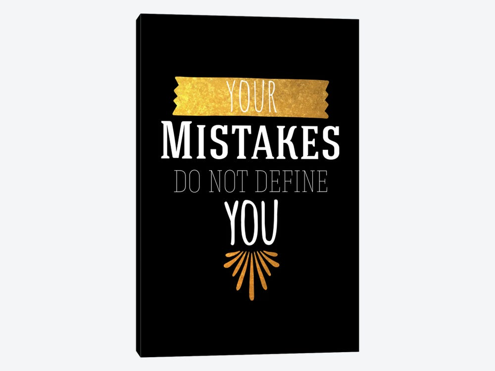 Your Mistakes IV by 5by5collective 1-piece Canvas Wall Art