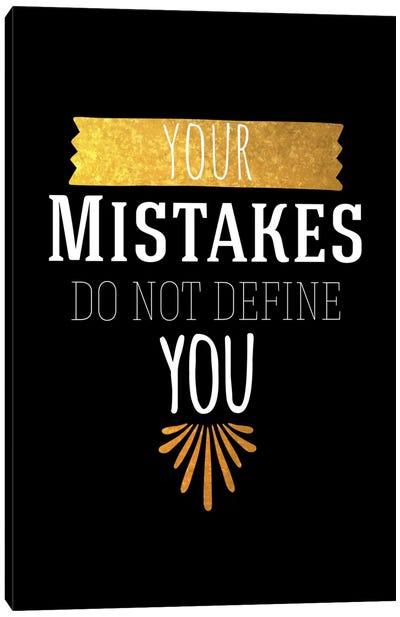 Your Mistakes IV Canvas Art Print