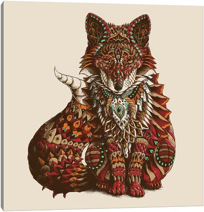 Red Fox In Color I Canvas Art Print