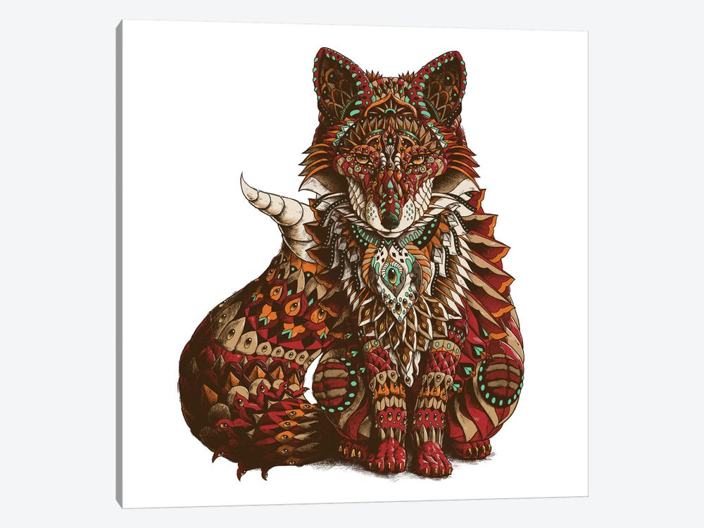Red Fox In Color II by Bioworkz 1-piece Canvas Print