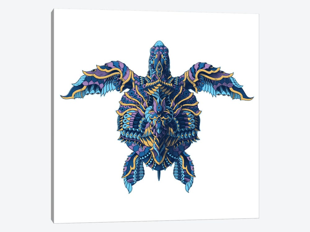 Seaturtle In Color I by Bioworkz 1-piece Canvas Print