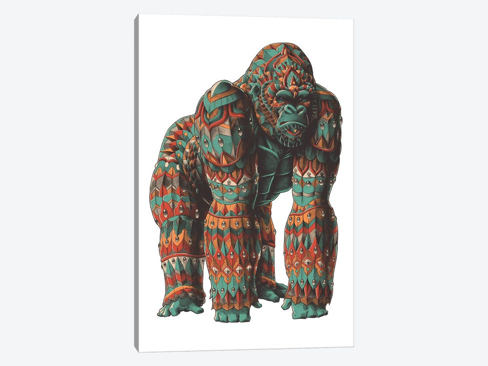 Silverback In Color I by Bioworkz 1-piece Canvas Wall Art