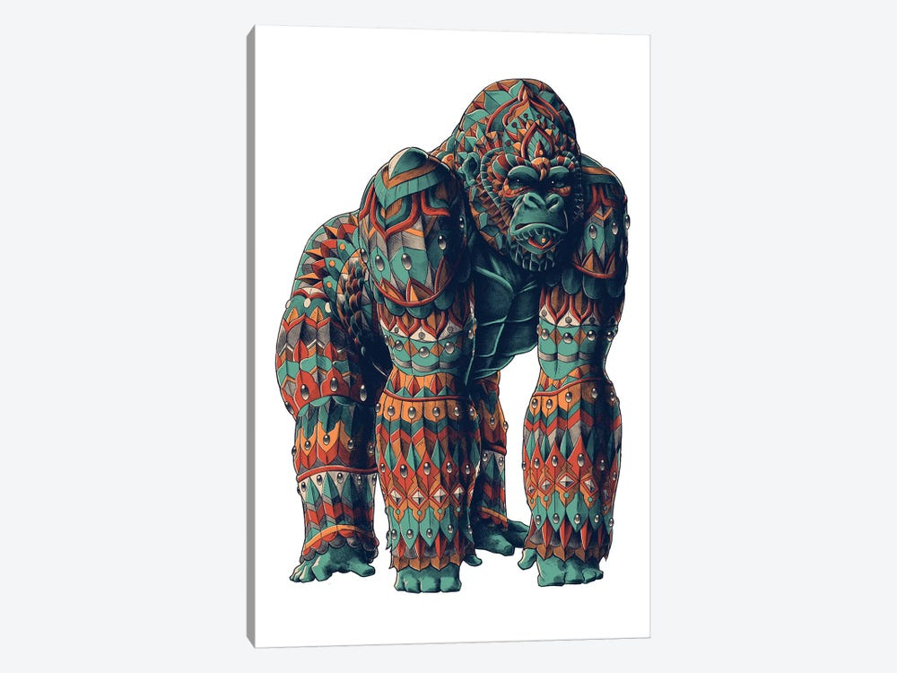 Silverback In Color II by Bioworkz 1-piece Canvas Art